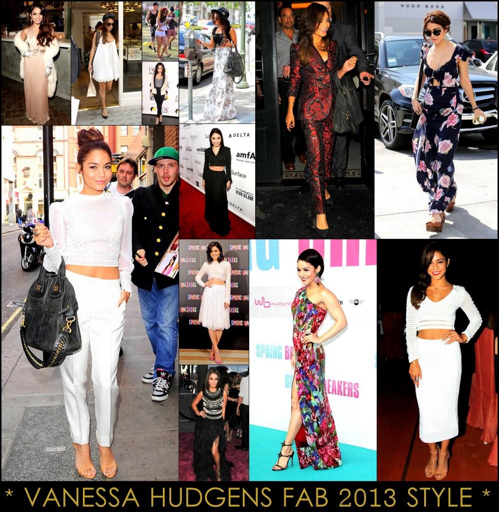 2013 Best Celeb Looks Vanessa Hudgens
