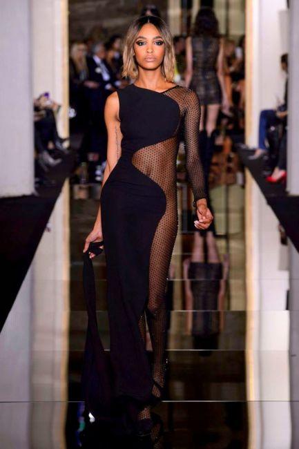 fad6881ba505b2b9bc35e3b603bfbda1Versace at Couture Spring 2015 Jourdan Dunn