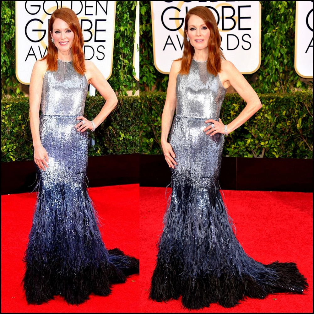 Julianne Moore in Givenchy Couture - 2015 Golden Globe
