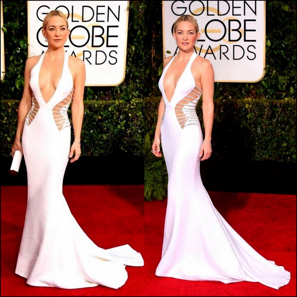 Kate Hudson in Atelier Versace, 2015 Golden Globe Awards