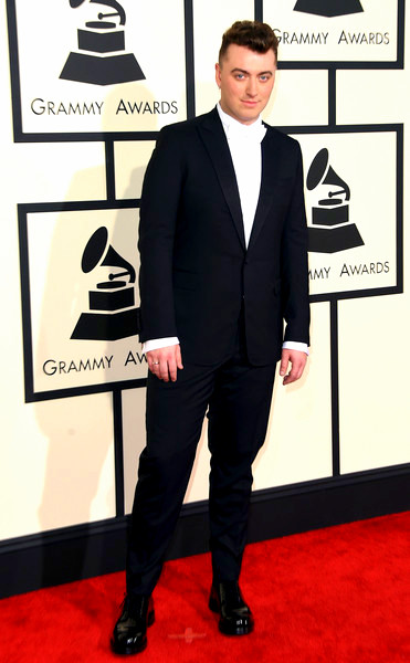57th+GRAMMY+Awards+Arrivals+4EoO9TBNInelSam Smith attends The 57th Annual GRAMMY