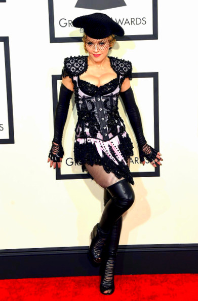 57th+GRAMMY+Awards+Arrivals+77_KPKNwvOIlMadonna attends The 57th Annual GRAMMY Awards