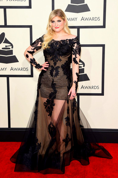 57th+GRAMMY+Awards+Arrivals+7kSXms_3Bq8lMeghan Trainor attends The 57th Annual GRAMMY