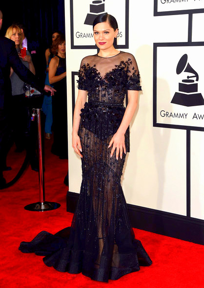 57th+GRAMMY+Awards+Arrivals+Ba0hxNYvtUfl Jessie J attends The 57th Annual GRAMMY Awards