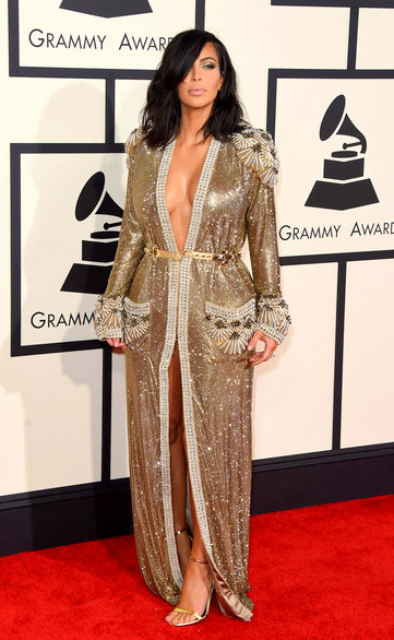 57th+GRAMMY+Awards+Arrivals+Do_RN5AS-r6lKim Kardashian attends The 57th Annual GRAMMY