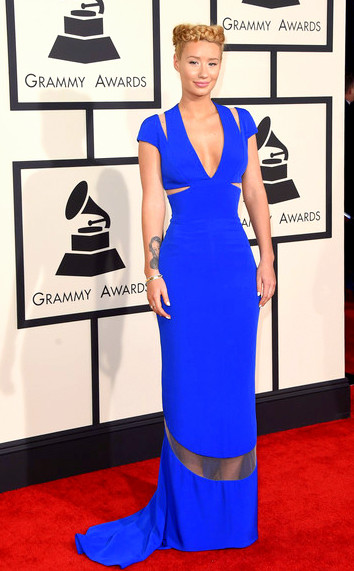 57th+GRAMMY+Awards+Arrivals+n4dmbQHlTqllggy Azalea attends The 57th Annual GRAMMY