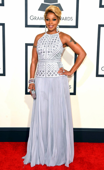 57th+GRAMMY+Awards+Arrivals+NUCRIwepjY5lMary J. Blige attends The 57th Annual GRAMMY