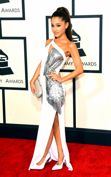 57th+GRAMMY+Awards+Arrivals+OJqEcui-n4PlAriana Grande attends The 57th Annual GRAMMY