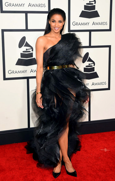 57th+GRAMMY+Awards+Arrivals+X7L1j6GyNVolCiara attends The 57th Annual GRAMMY Awards