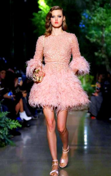 Elie Saab Spring 2015 Couture lindsey