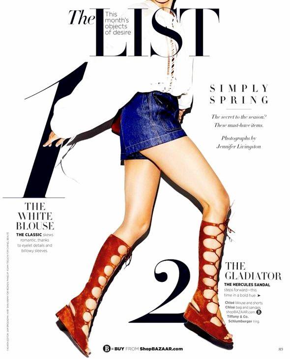 gladiator sandals summer trend