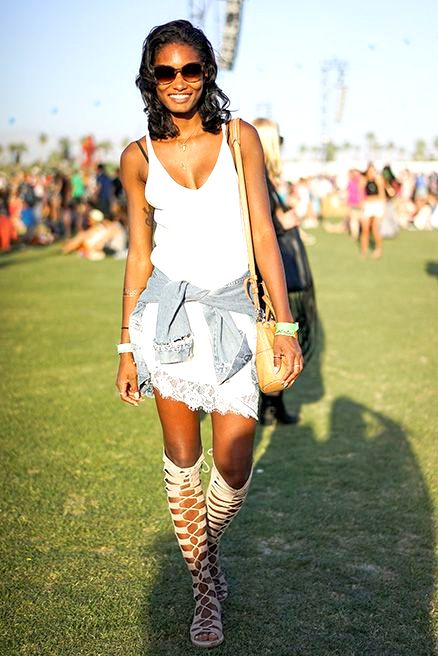 gladiator sandals bloggers coachella
