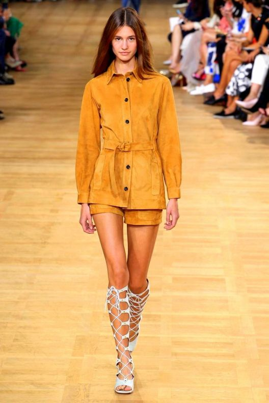 Chloe Spring 2015 best runway looks from #PFW