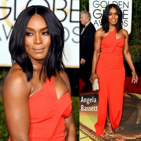 Angela Bassett in Safiyaa 73rd+Annual+Golden+Globe+Awards