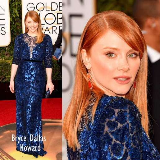 Bryce Dallas Howard in Jenny Packham 73rd+Annual+Golden+Globe+Awards