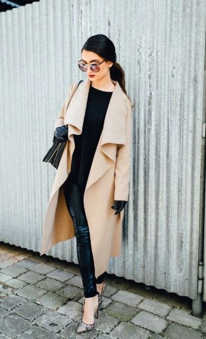 camel coat look fab