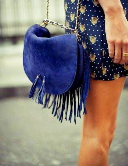 ELLE Fringe Bag