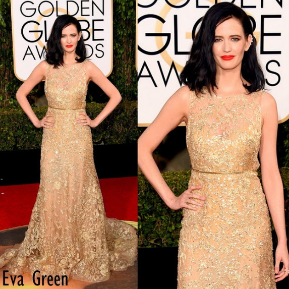 Eva Green in Elie Saab 73rd+Annual+Golden+Globe+Awards
