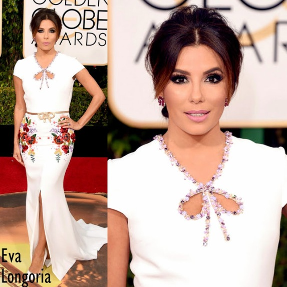 Eva Longoria in Georges Hobeika. 73rd+Annual+Golden+Globe+Awards