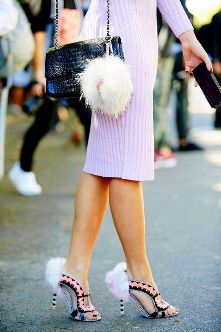 #Fuzzy #SophiaWebster #Heel Hoppers