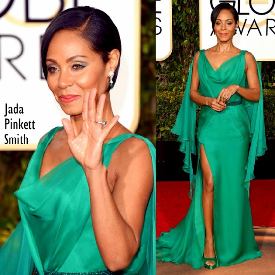 Jada Pinkett Smith in Versace 73rd+Annual+Golden+Globe+Awards