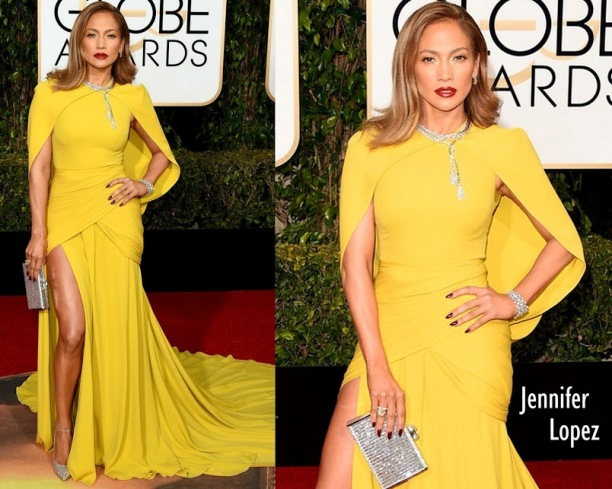 Jennifer Lopez in Giambattista Valli 73rd+Annual+Golden+Globe+Awards