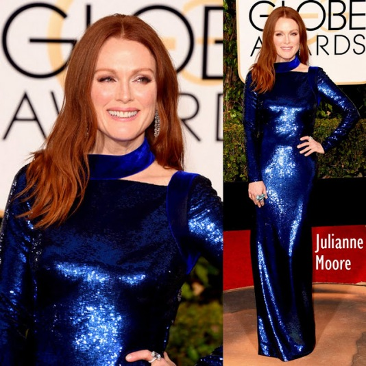 Julianne Moore in Tom Ford 73rd+Annual+Golden+Globe+Awards