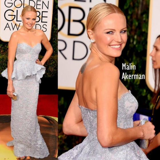 Malin Akerman in Reem Acra 73rd+Annual+Golden+Globe+Awards+Arrivals