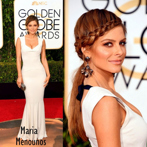 Maria Menounos in Roland Mouret 73rd+Annual+Golden+Globe+Awards