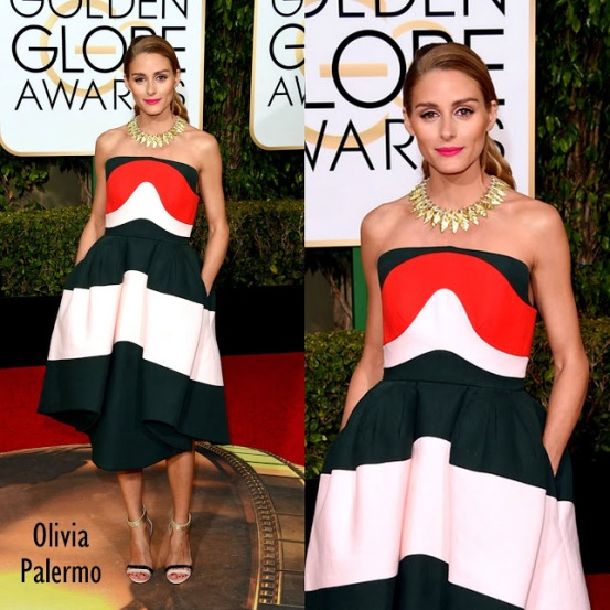 Olivia Palermo in Delpozo 73rd+Annual+Golden+Globe+Awards+