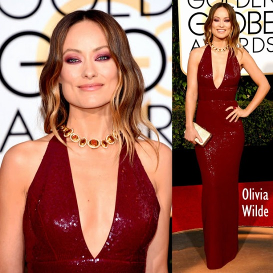 Olivia Wilde Michael Kors 73rd+Annual+Golden+Globe+Awards+