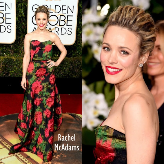 Rachel McAdams in Lanvin 73rd+Annual+Golden+Globe+Awards+