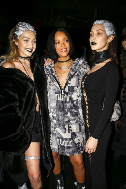 Fenty x Puma Fall 2016 Ready-to-Wear with Bella RiRi GiGi