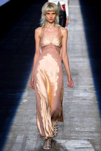 Alexander Wang Spring 2016 Ready-to-Wear slip dress