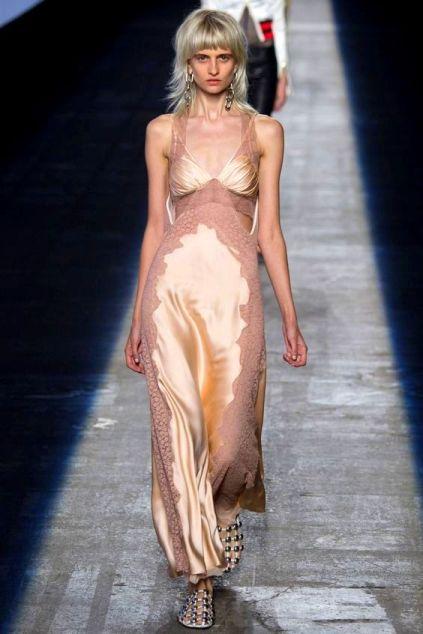 Alexander Wang Spring 2016 Ready-to-Wear slip dress