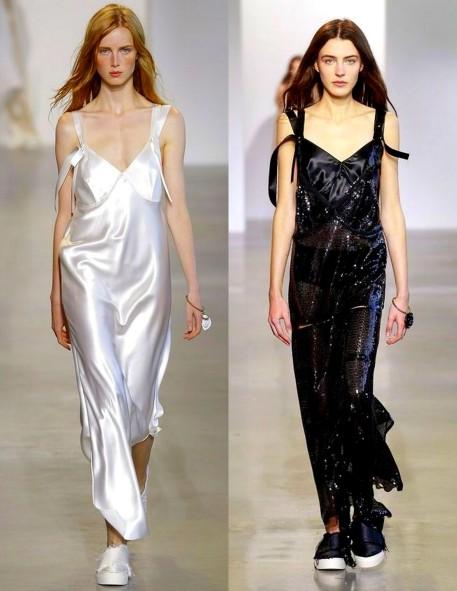 Calvin Klein Newest Slip Dresses 2015