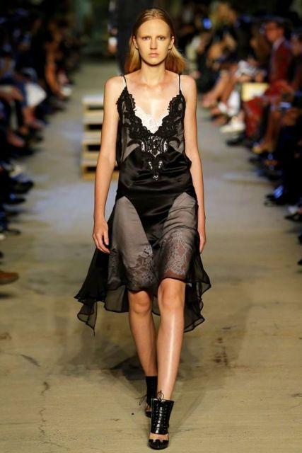 Givenchy Spring 2016 Ready-to-Wear Fashion slip dress