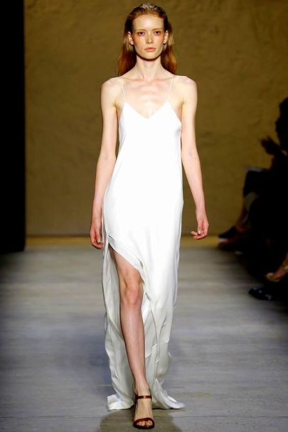 Narciso Rodriguez Spring 2016 Ready-to-Wear Collection slip dress