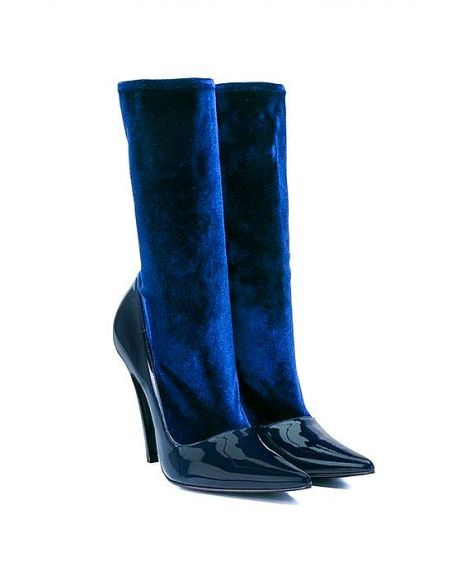 navy-balenciaga-velvet-and-patent-leather-boots