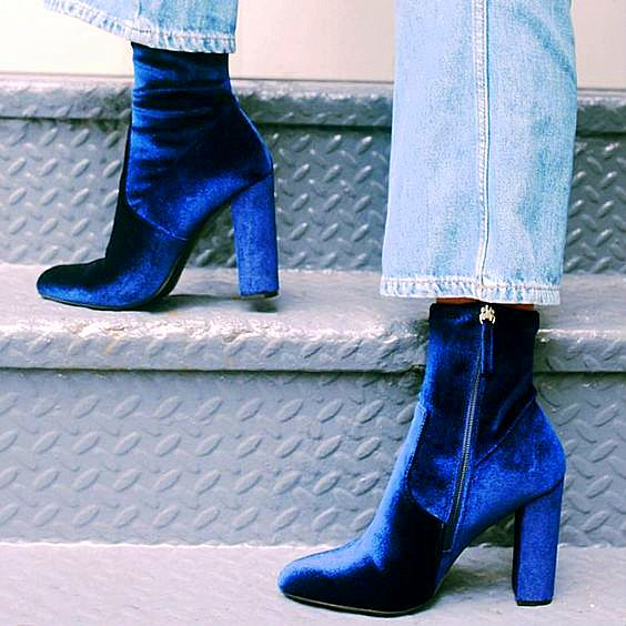 velvet-block-heels-blue-ankle