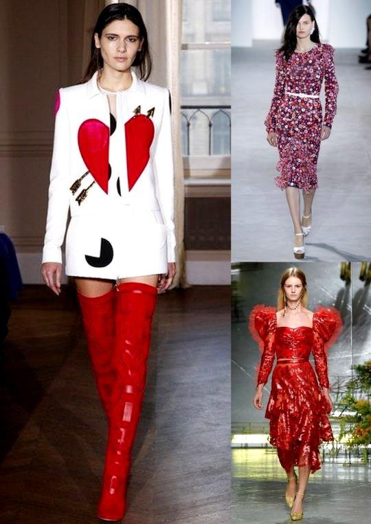 Heartbreak Romantic Trend Spring Summer 2017 ready to wear