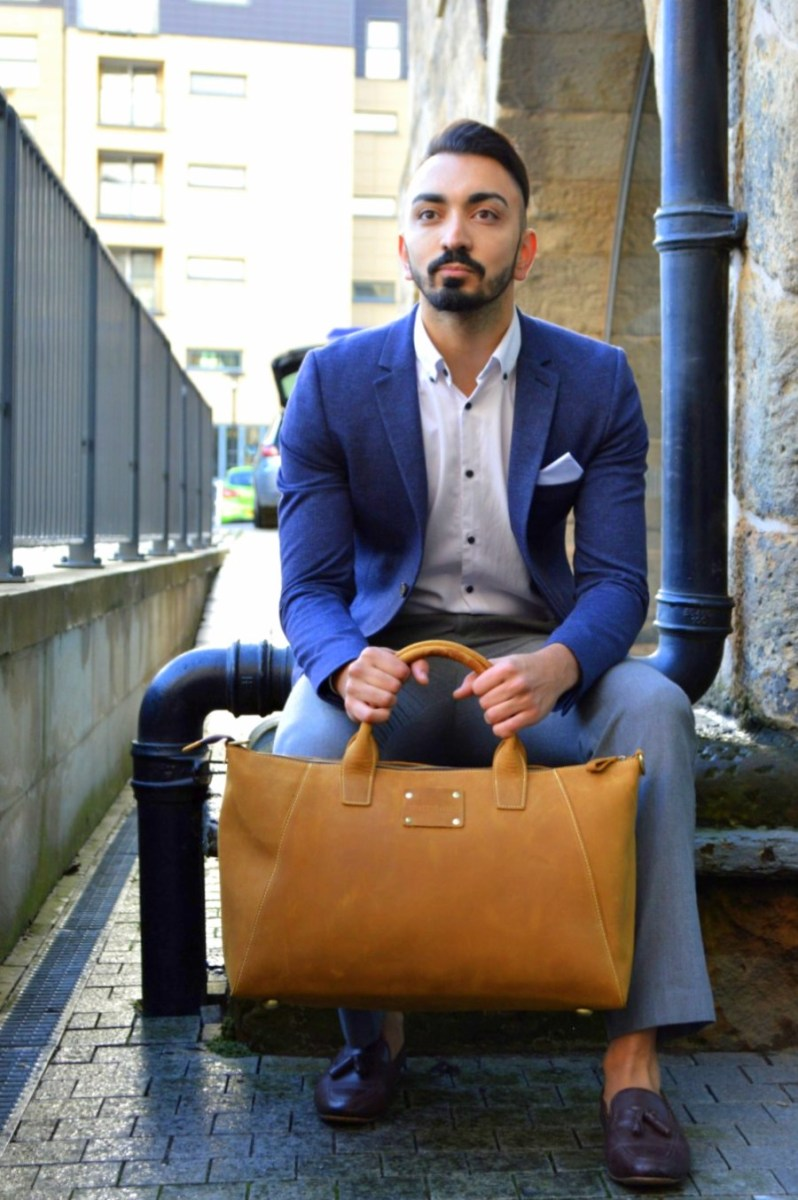 The Modern Man: Featuring Kurtis Paul Dapper Menswear Bags