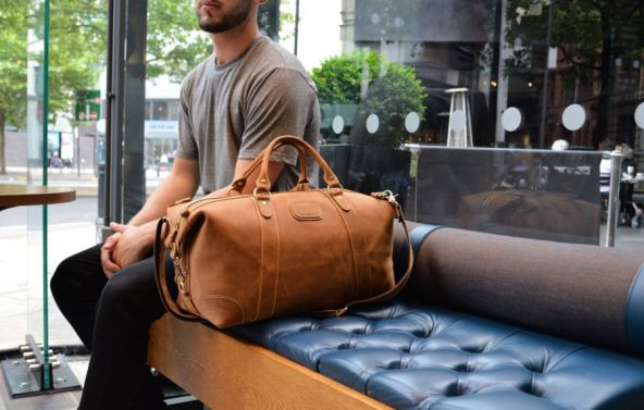 Kurtis-Paul-Mens-Fashion-Designer-Leather-Backpack-Duffle-Bag-Holdall