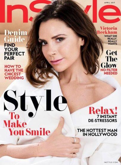 US InStyle April 2017 Victoria Beckham