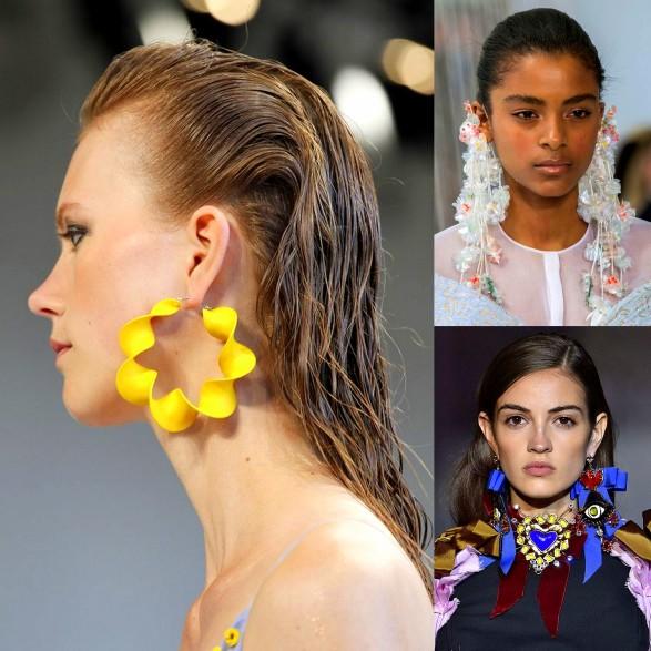 Wild & Long Earrings Trend 2017 Spring Summer Ready To Wear