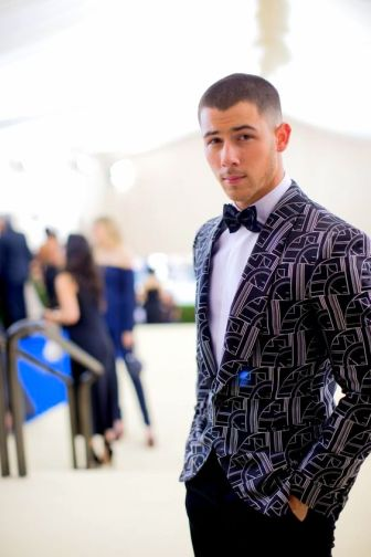 Nick Jonas at Met Gala 2017