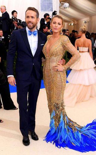 Ryan Reynolds and Blake Lively 2017-met-gala