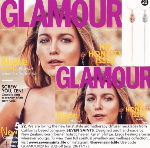 Glamour Magazine Blake Lively 2017